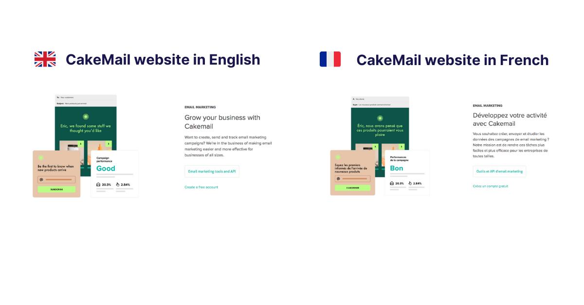 Cakemail website image localization