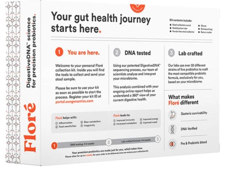 Concluir um teste de saúde intestinal da Sun Genomics é simples com as instruções fornecidas.