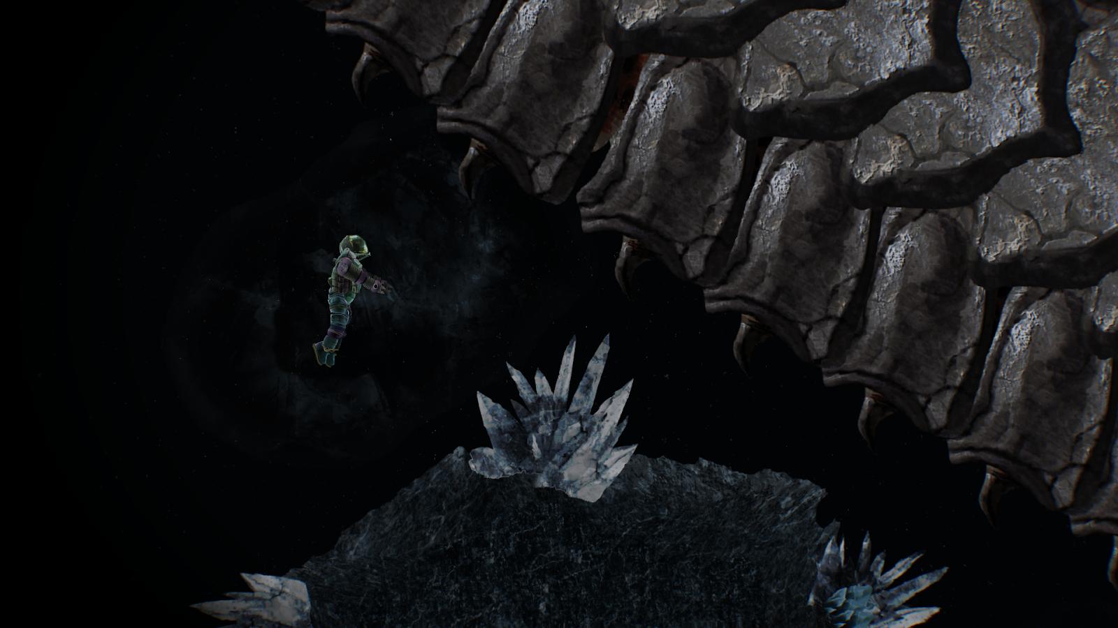 Barotrauma abyss monster endworm