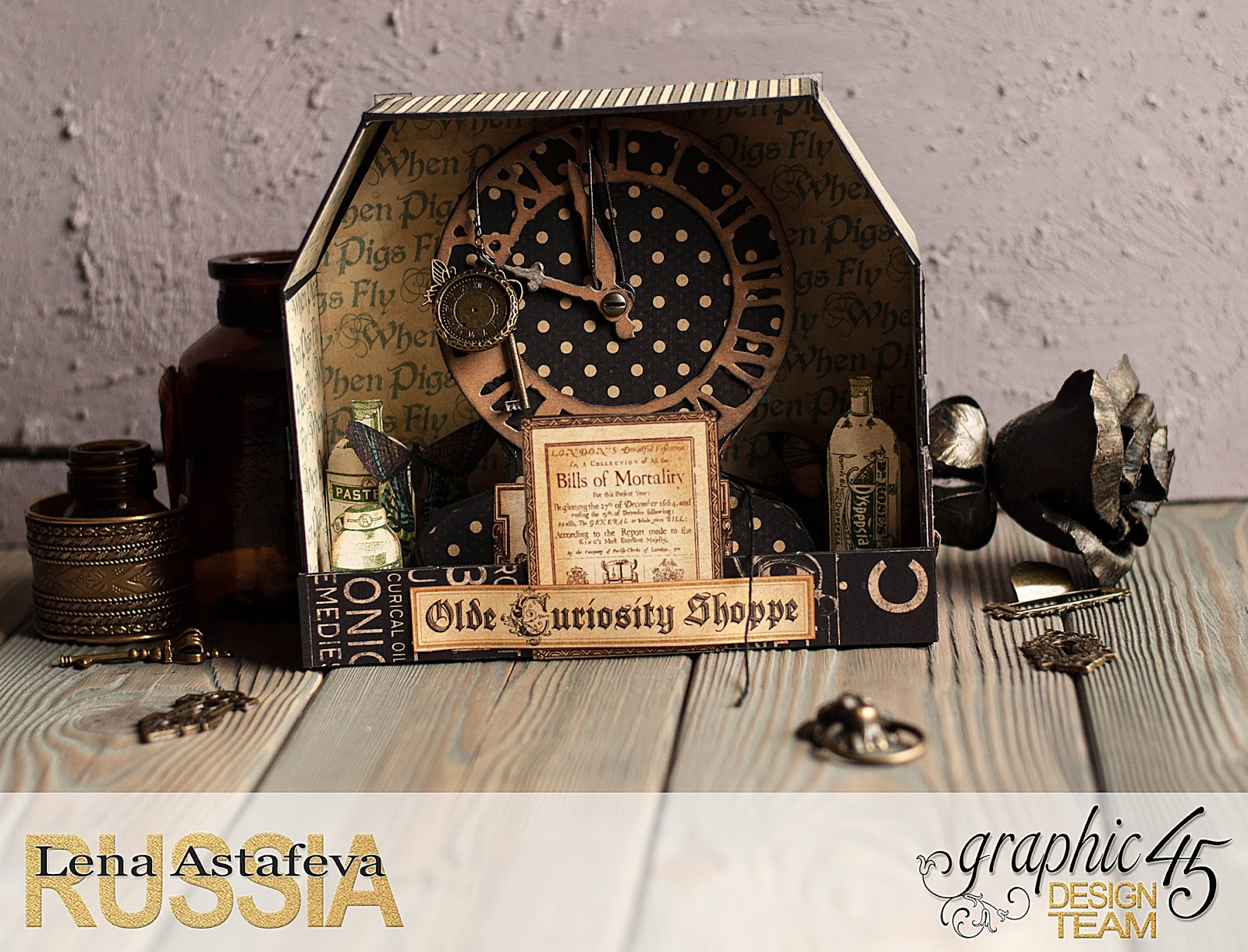 Olde Curiosity Shoppe-Album and Shoppe-tutorial by Lena Astafeva-products by Graphic 45-20.jpg