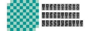 задача шахматная доска и домино