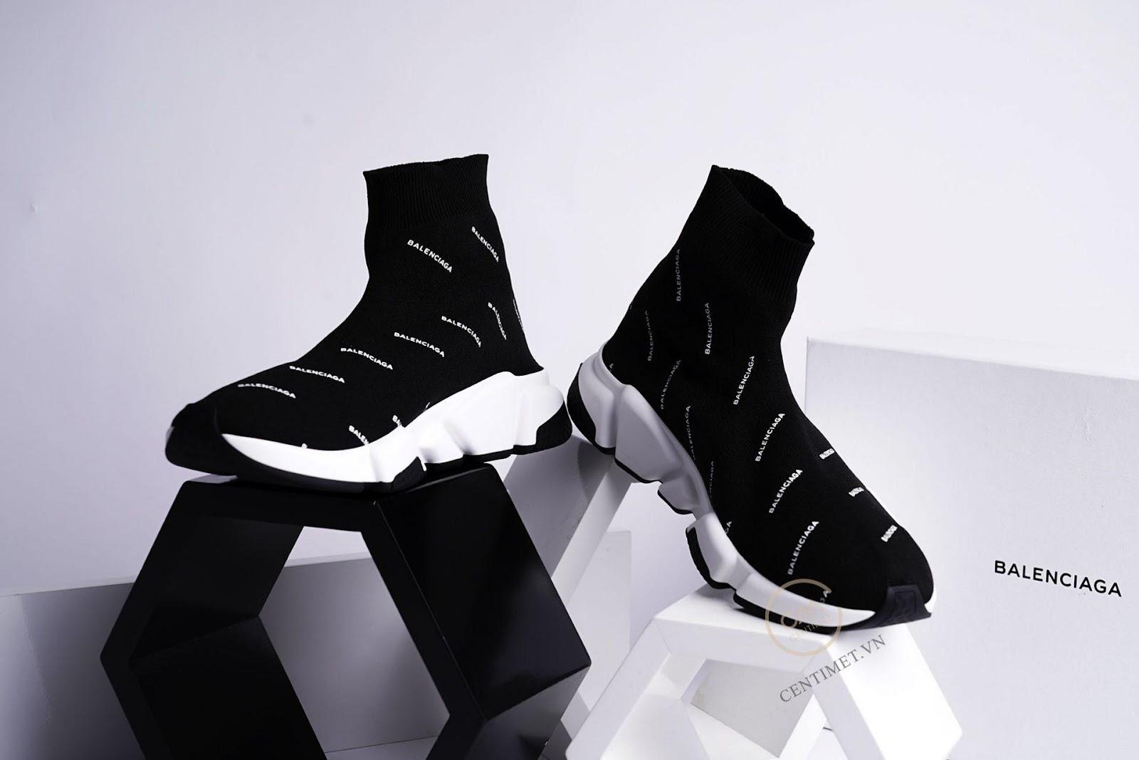 Giới thiệu 2 siêu phẩm giày Balenciaga trắng và Balenciaga speed trained chính hãng