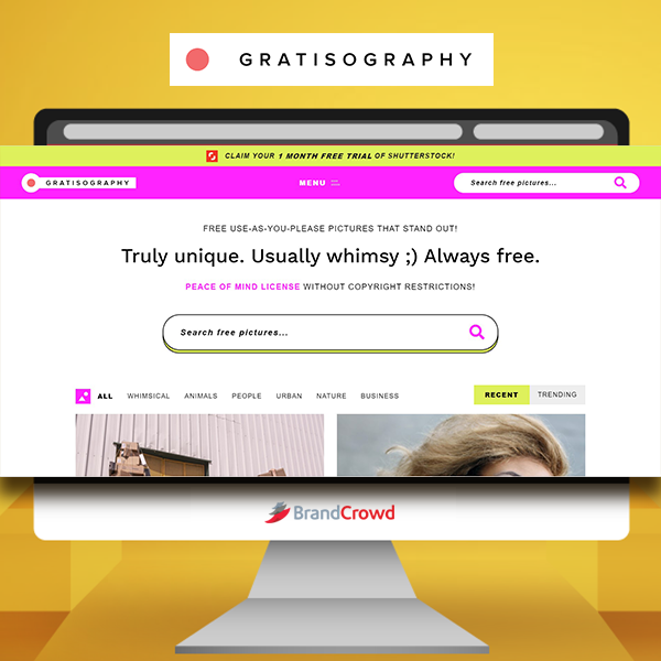 the-photo-features-a-monitor-displaying-the-landing-page-of-gratisography