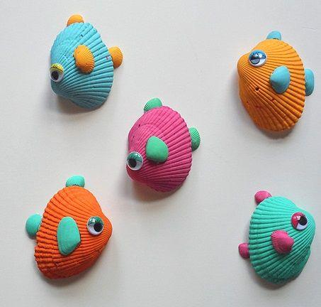 educacion-docente-6-decoraciones-de-verano-con-materiales-reciclados-animales-con-conchas
