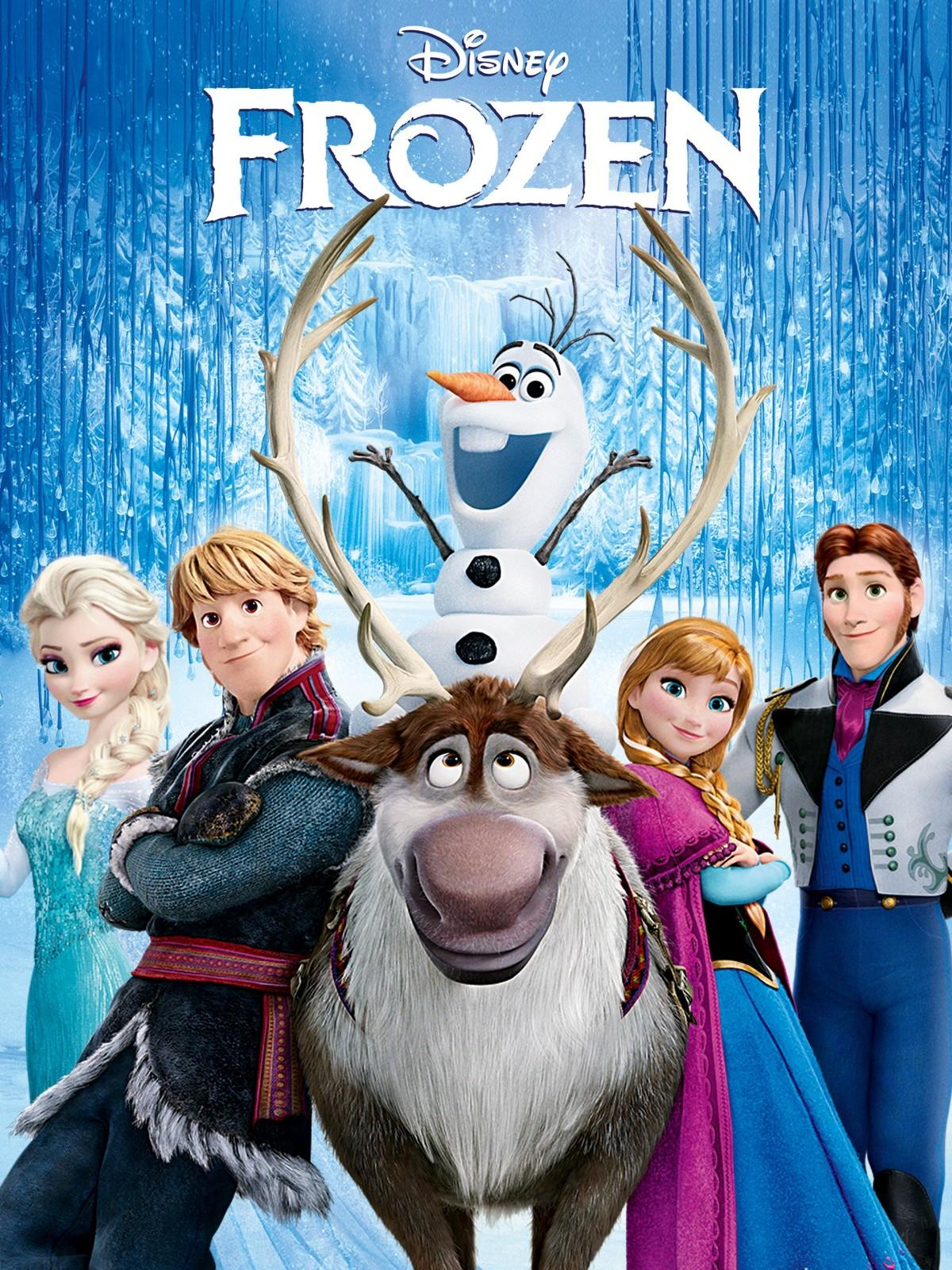 Official poster of Frozen (2013)