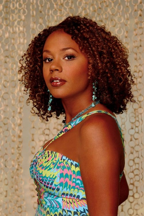 Rachel True as Mona Thorne from the television sitcom Half and ...