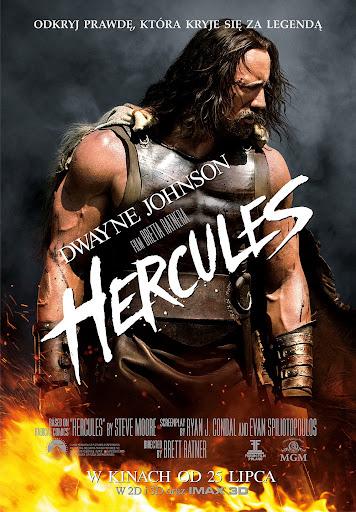 Polski plakat filmu 'Hercules'