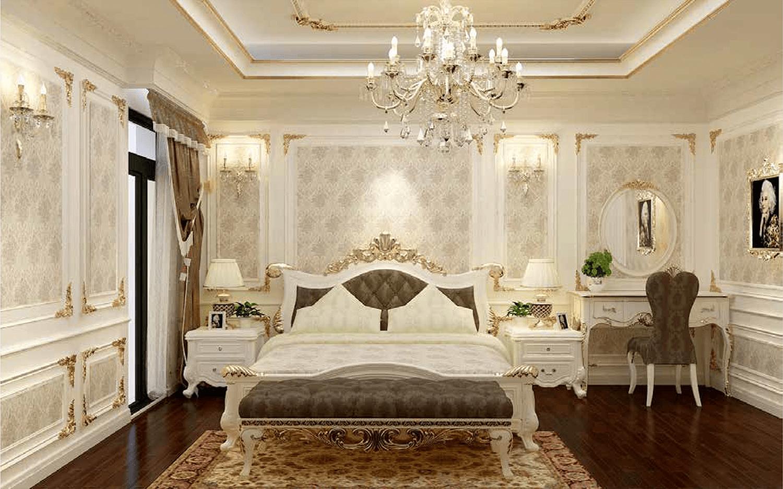 Phòng ngủ phong cách Châu Âu 3