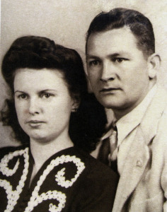 Genoma and Neal were married on Oct. 3, 1942