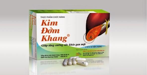 TPCN Kim Đởm Khang giải pháp cho bệnh sỏi mật