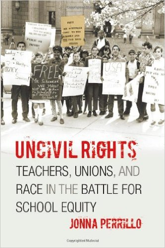 Almost fifty years after Brown v. Board of Education, a wealth of research shows that minority students continue to receive an unequal education. At the heart of this inequality is a complex and often conflicted relationship between teachers and civil rights activists, examined fully for the first time in Jonna Perrillo's Uncivil Rights, which traces the tensions between the two groups in New York City from the Great Depression to the present.While movements for teachers' rights and civil rights were not always in conflict, Perrillo uncovers the ways they have become so, brought about both by teachers who have come to see civil rights efforts as detracting from or competing with their own goals and by civil rights activists whose aims have de-professionalized the role of the educator. Focusing in particular on unionized teachers, Perrillo finds a new vantage point from which to examine the relationship between school and community, showing how in this struggle, educators, activists, and especially our students have lost out.