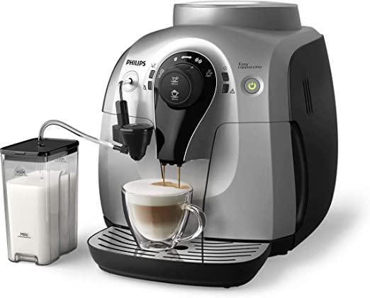 Philips 2100 Series Super Automatic Espresso Machine, HD8652/14, Silver
