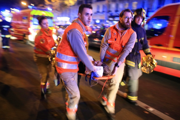 More than 100 killed in Paris attacks