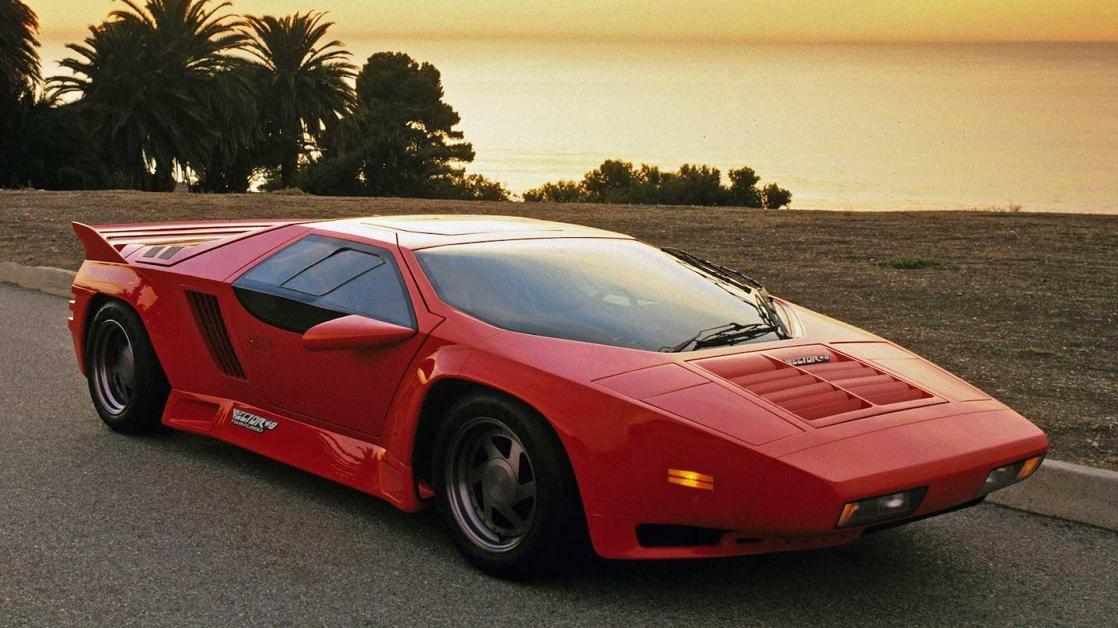 Vector W8 | Viteza Maxima - 389 km/h