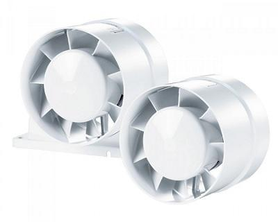 Осевой канальный вентилятор ВЕНТС 125 ВКО турбо купить в Киеве: цена,  отзывы, характеристики - Провент