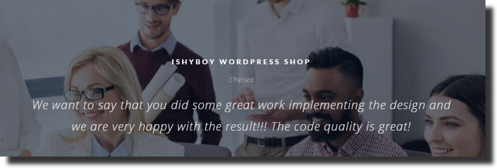an example of a testimonial for a web design agency Dental Website Design