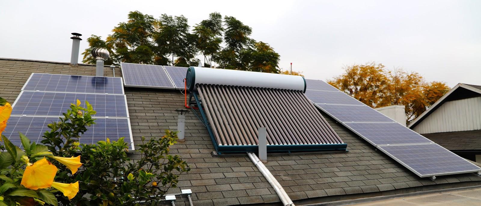 Cómo instalar energía solar térmica en casa