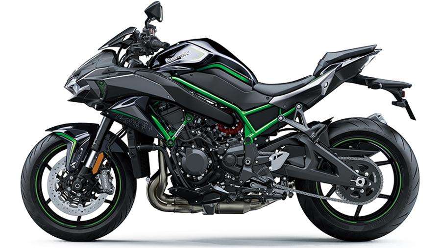 Kawasaki Z-H2 2020 สุดยอดรถจักรยานยนต์ไฮเปอร์ไบค์1
