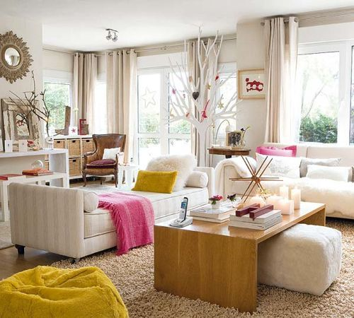 Two Living Spaces