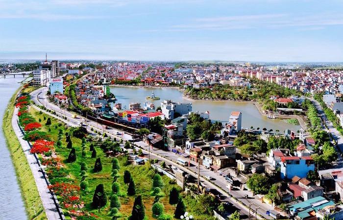 Hà Nam thành phố đang phát triển
