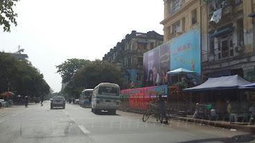 Yangon Thingyan 2014