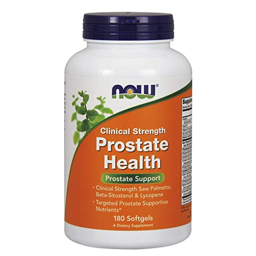 image of NOW prostate supplement