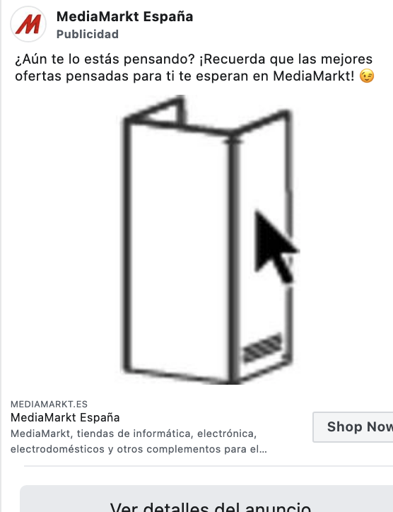 Así se anuncia el ecommerce digital más grande de España