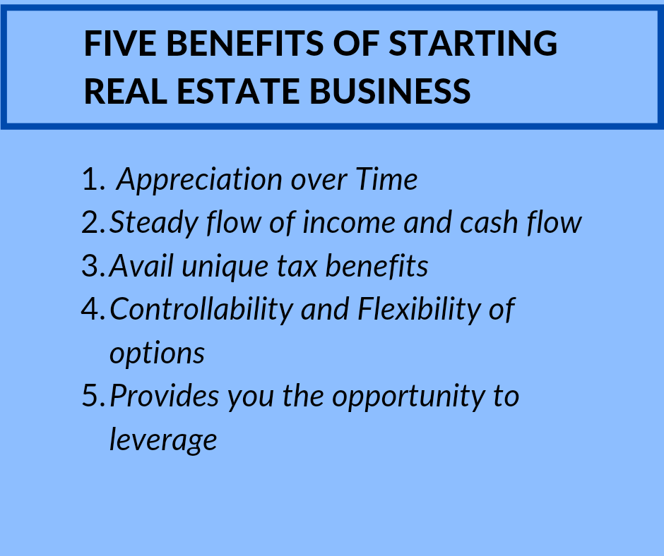 Benefits of Real Estate Business