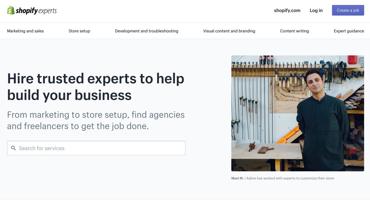 Shopify experts for product videos