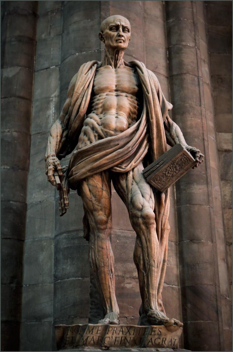 Marco d'Agrate, Saint Bartholomew, Milan Cathedral, 15.jpg