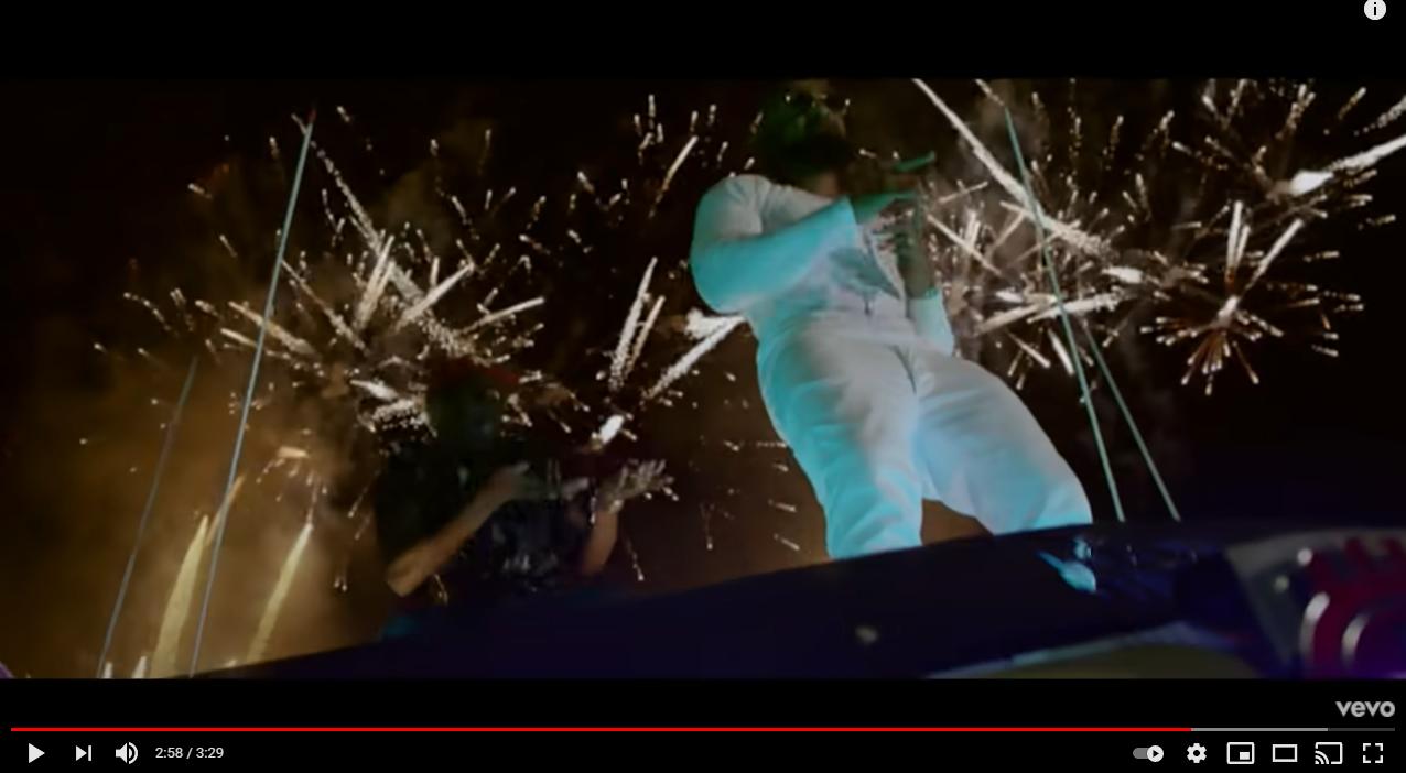 Feu d'artifice clip musical d'Alonzo et MHD