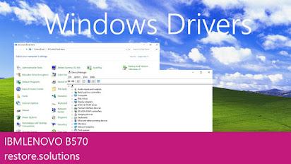 Lenovo b570 drivers for windows 7
