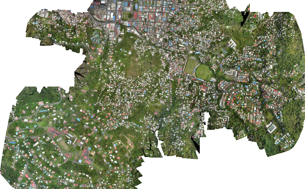 Aerial drone imagery of buildings across the Caribbean for a DrivenData competition. Like Azavea, DrivenData Labs strive to produce ethical machine learning.