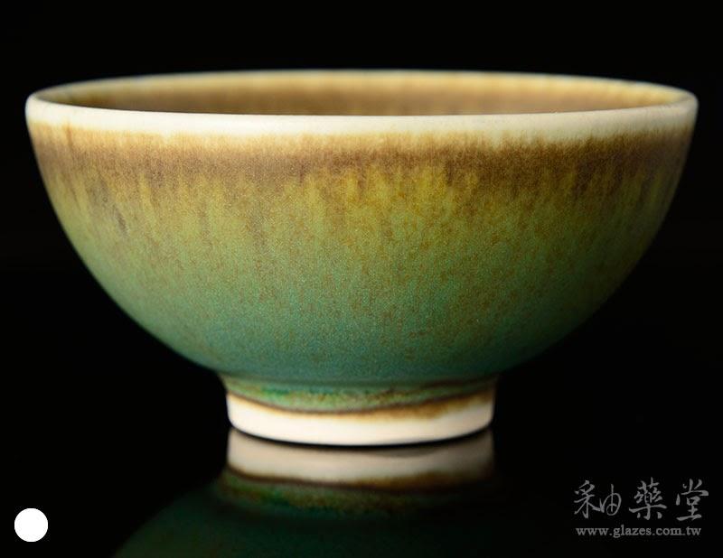 無光灰墨綠釉藥-TD-04-glaze