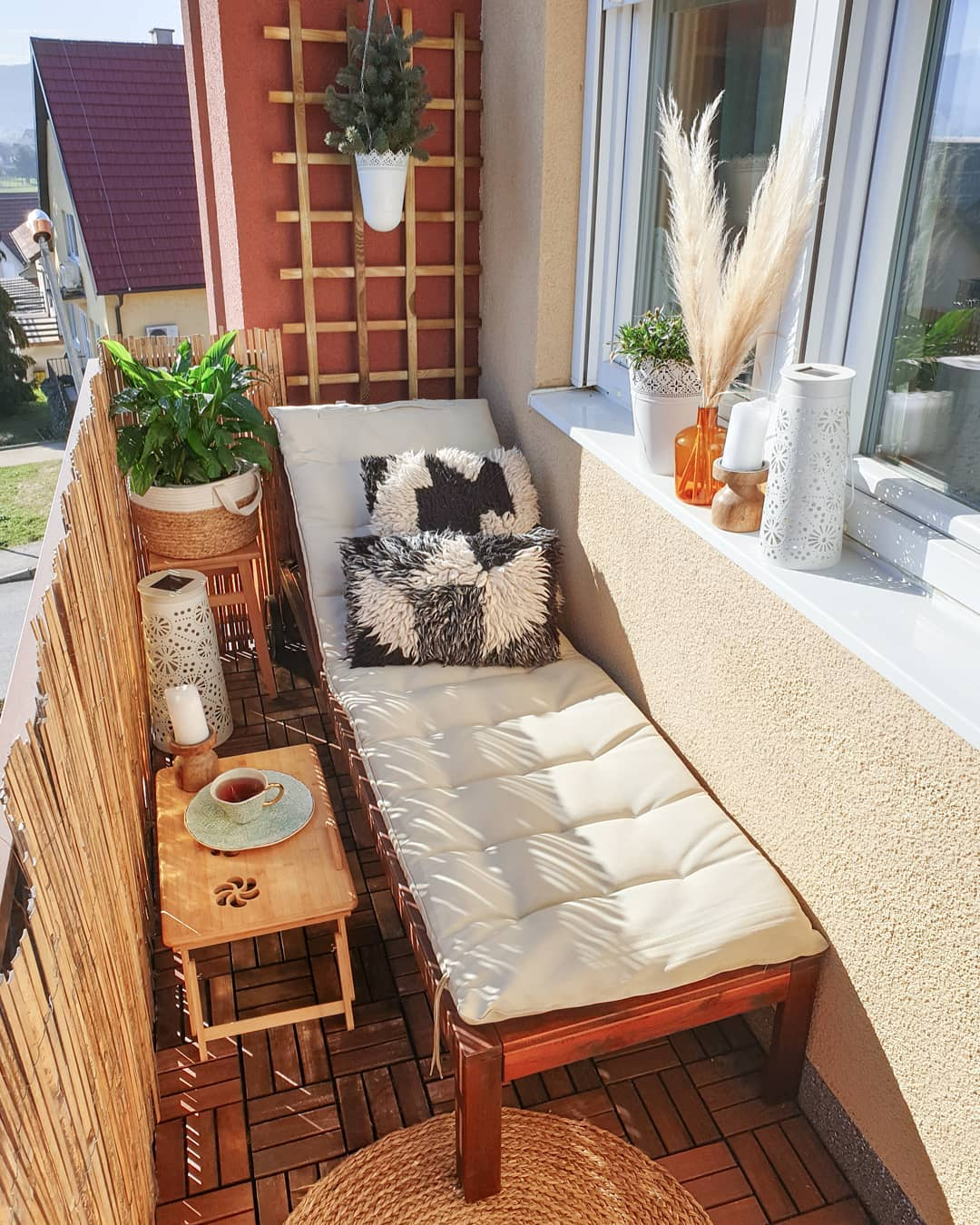 Uređenje male terase
