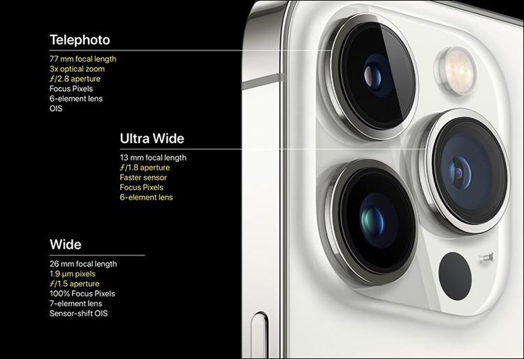 Nhiều tính năng mới trên camera