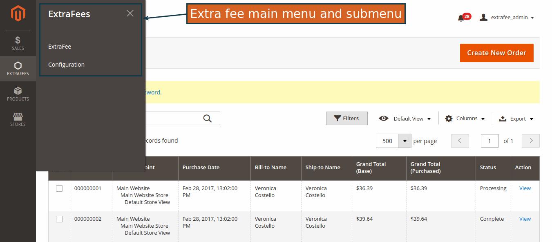 wonderful Magento extra fee extension