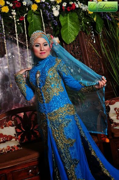 foto pengantin muslimah