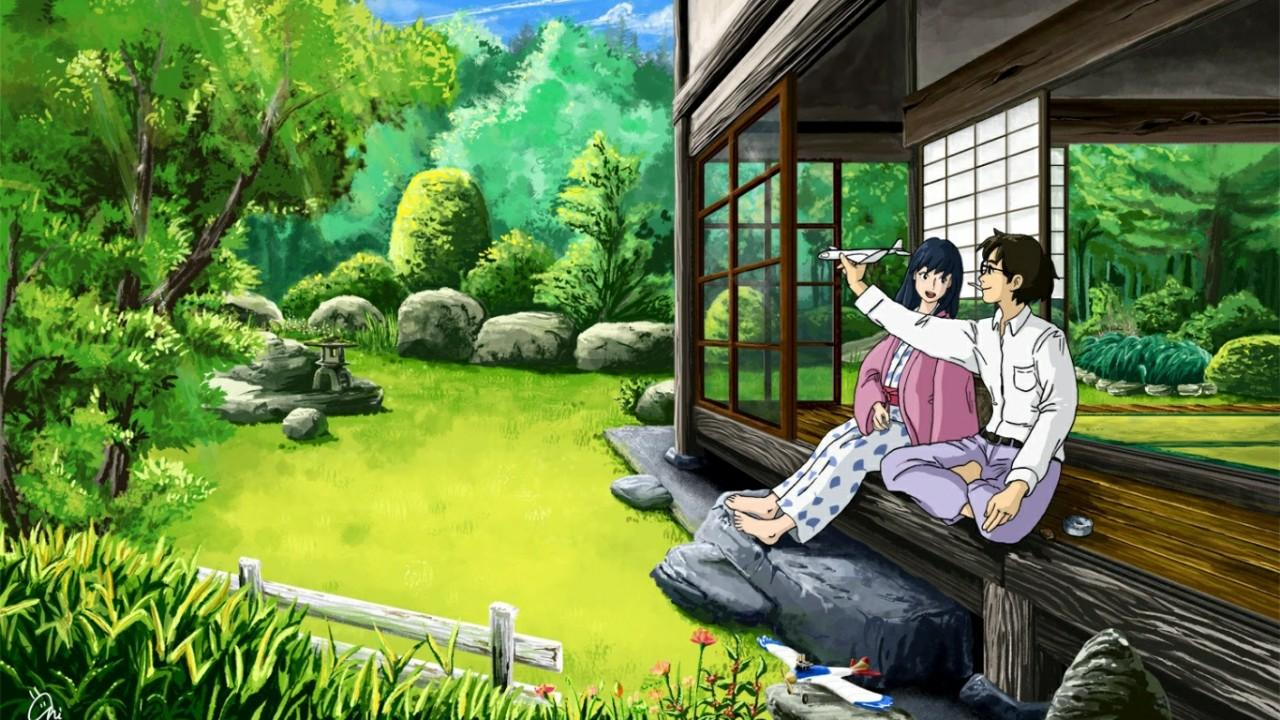 Jiro and his love Nahoko