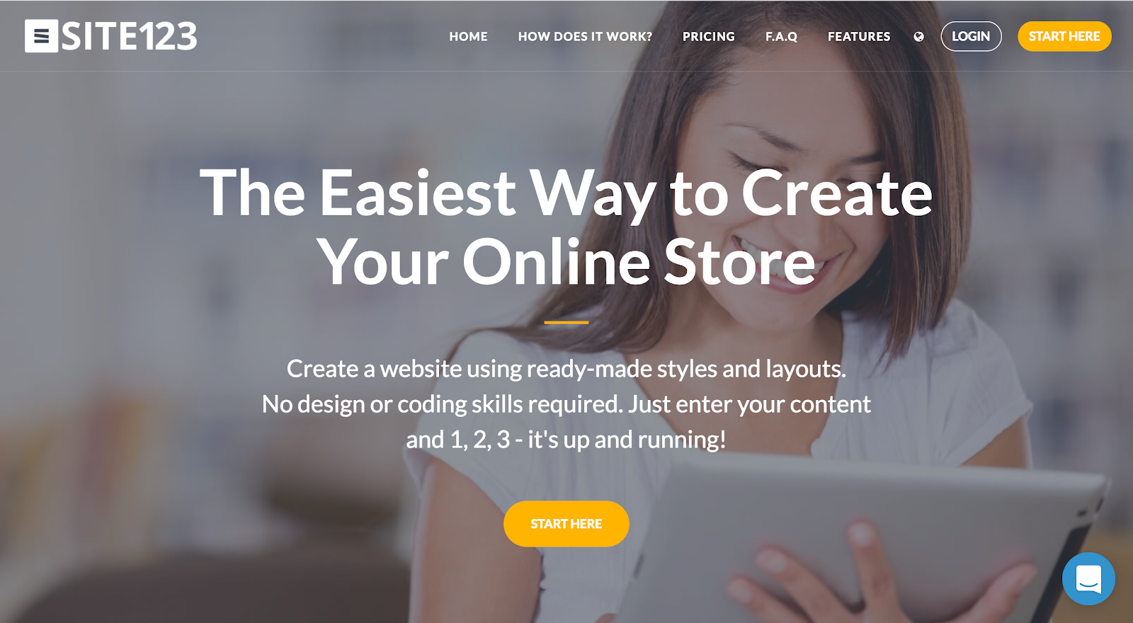 Create Your Online Store with SITE123