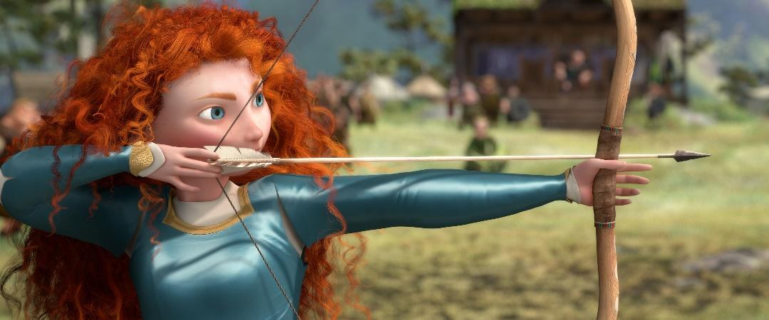 Brave bow arrow | Brave movie, Disney brave, Brave trailer