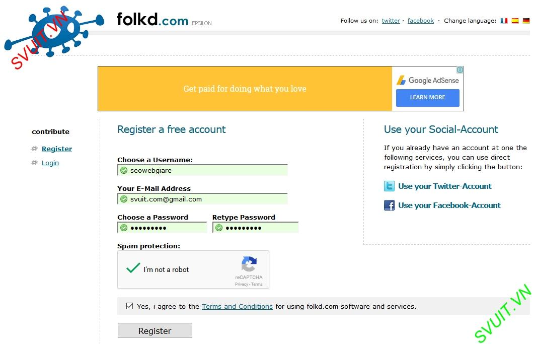 Backlink trên Folkd.com 3
