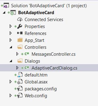 Getting Started Adaptive Card Design Using Microsoft Bot Framework