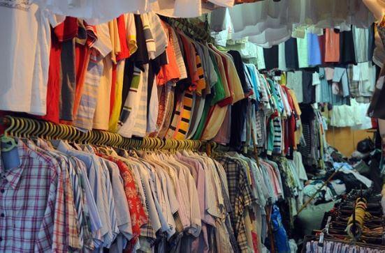 chất lượng quần áo ở chợ Tân Bình