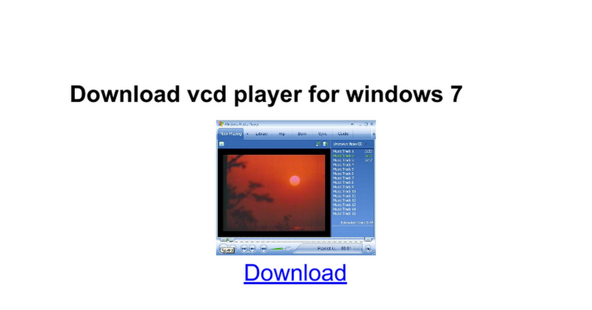 Download vcd player for windows 7 google docs for Google docs for windows 8 1