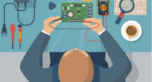 How to check short circuit in a PCB with a multimeter