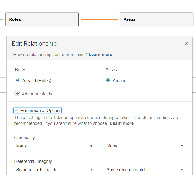 Roles Edit Relationship