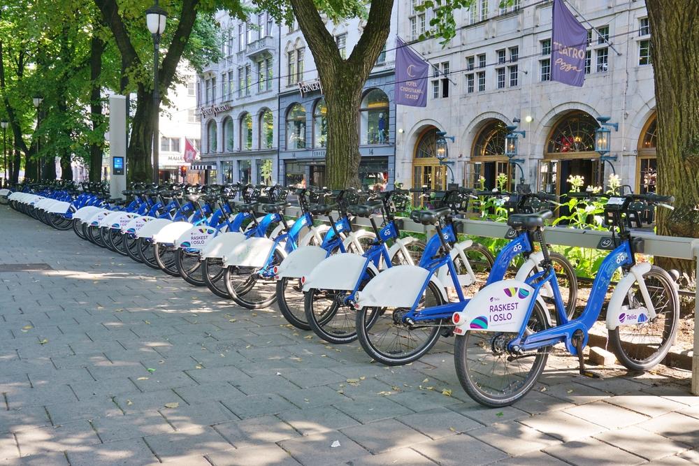 Para evitar mortes no trânsito, a Noruega expandiu o sistema cicloviário. (Fonte: Shutterstock)