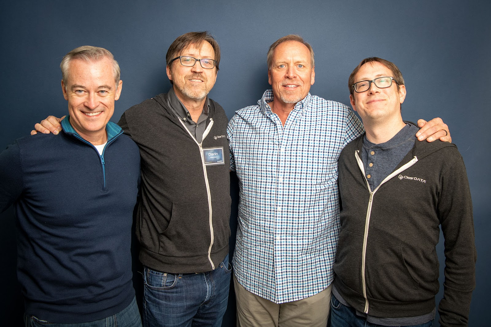 ClearDATA co-founders