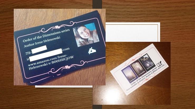 Business Cards for Irene Helenowsko